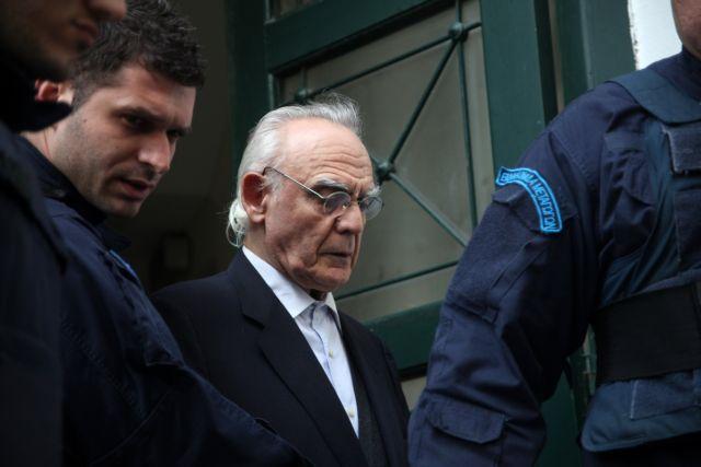 Court rejects Tsohatzopoulos prison release application | tovima.gr