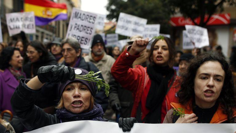 Νέα διαδήλωση στη Μαδρίτη κατά της απαγόρευσης των αμβλώσεων | tovima.gr