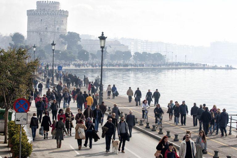 Θεσσαλονίκη: Πεζοδρομήθηκε για έξι ώρες η Λεωφόρος Νίκης | tovima.gr