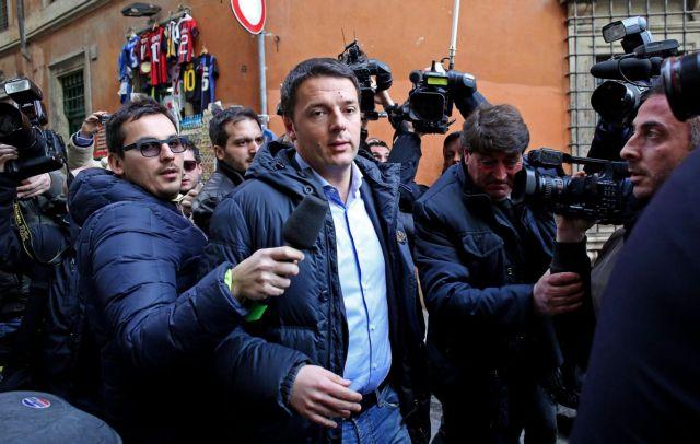 Ματέο Ρέντσι στην πρωθυπουργία ψήφισε η ιταλική Κεντροαριστερά   tovima.gr