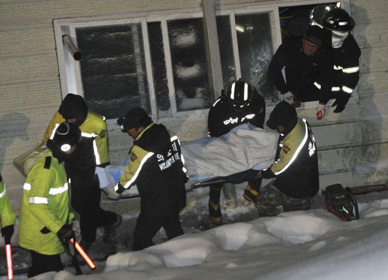 Ν.Κορέα: Τουλάχιστον οκτώ νεκροί από κατάρρευση κτιρίου   tovima.gr