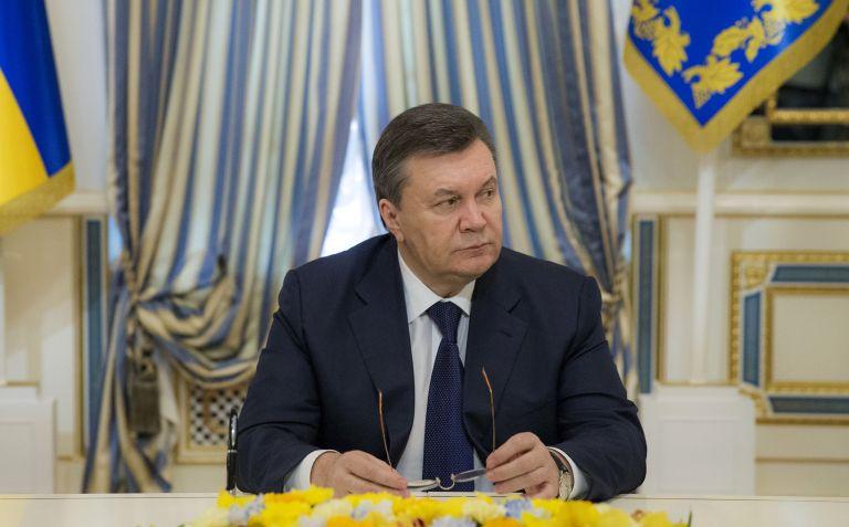 Γιανουκόβιτς: Είμαι ο νόμιμος πρόεδρος της Ουκρανίας   tovima.gr