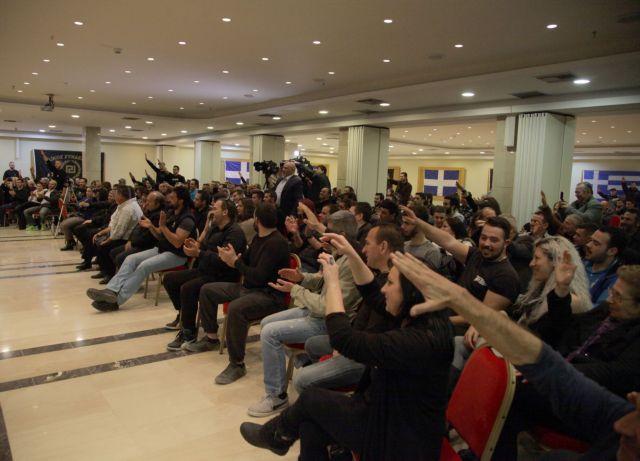 ΕΔΕ για τις δηλώσεις αστυνομικού-υποψηφίου της Χρυσής Αυγής   tovima.gr