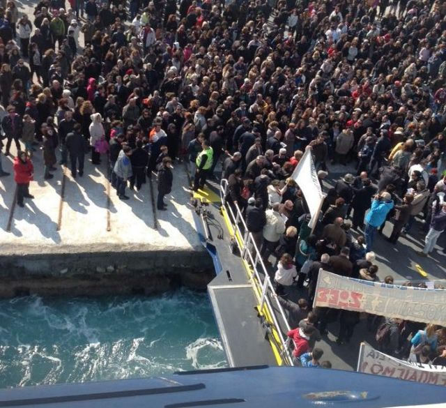 Πάρος: Συγκέντρωση διαμαρτυρίας για τις ελλείψεις των μονάδων υγείας | tovima.gr