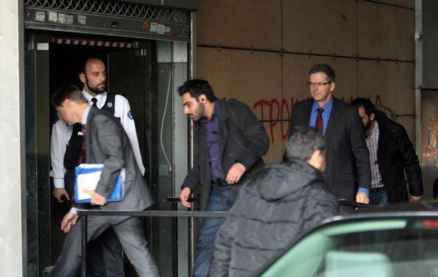 ECB, EU and IMF representatives visit Ministry of Finances   tovima.gr
