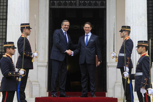 "Samaras heralds Greece's ""return to growth in 2014""   tovima.gr"