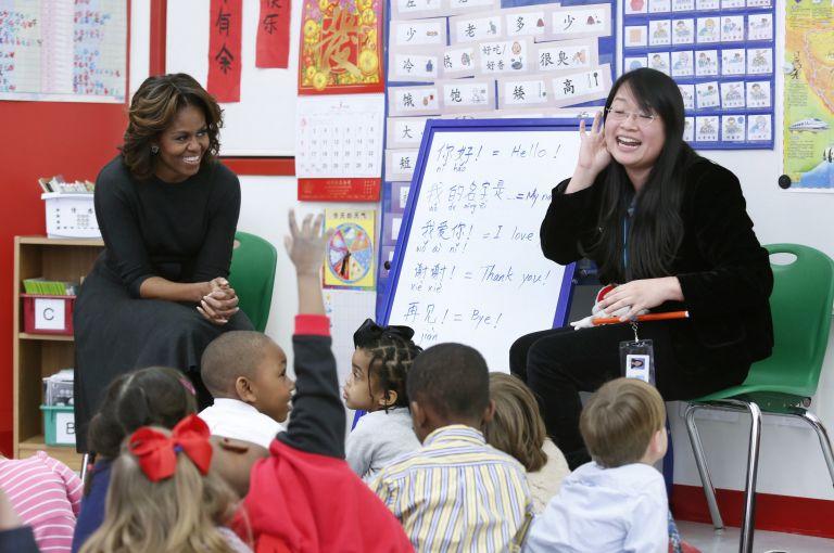 Στην Κίνα η Μισέλ Ομπάμα με τις κόρες της για εκπαιδευτικούς λόγους | tovima.gr