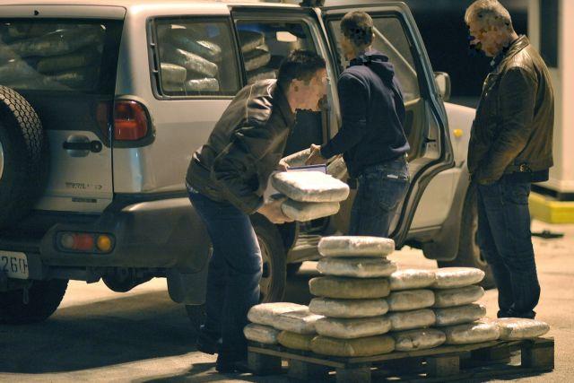 Κατασχέθηκαν 230 κιλά χασίς στα Ιωάννινα | tovima.gr