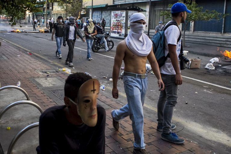 Βενεζουέλα: Παραβίαση ανθρωπίνων δικαιωμάτων στην καταστολή διαδηλώσεων | tovima.gr