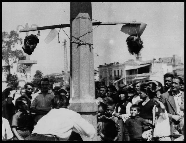 Αρης Βελουχιώτης: Αι κεφαλαί εξετέθησαν εις κοινήν θέαν | tovima.gr