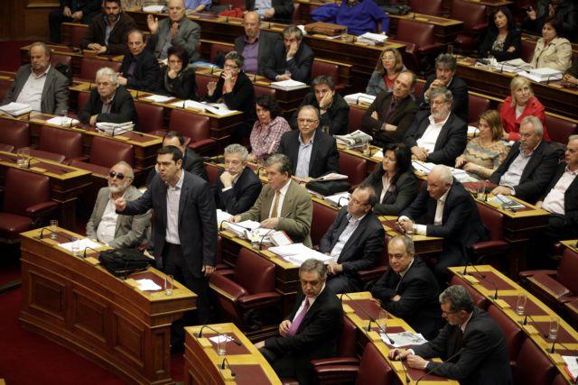 Critical multi-bill passes in Parliament amid tension | tovima.gr