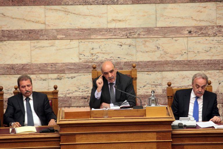 165 κατά της πρόταση μομφής ΣΥΡΙΖΑ για τον πρόεδρο της Βουλής | tovima.gr