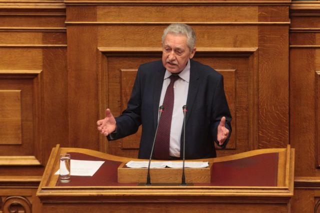 Κουβέλης: «Καταψηφίζουμε γιατί υπονομεύεται η προοπτική της ανάκαμψης» | tovima.gr