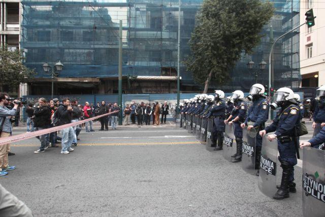 Λιγότερες οι διαδηλώσεις το 2014 από ό,τι το 2011 | tovima.gr