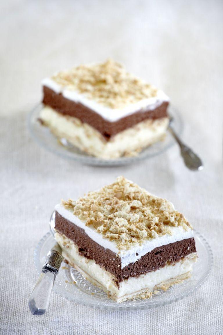 Μιλφέιγ με κρέμα σοκολάτα και βανίλια | tovima.gr