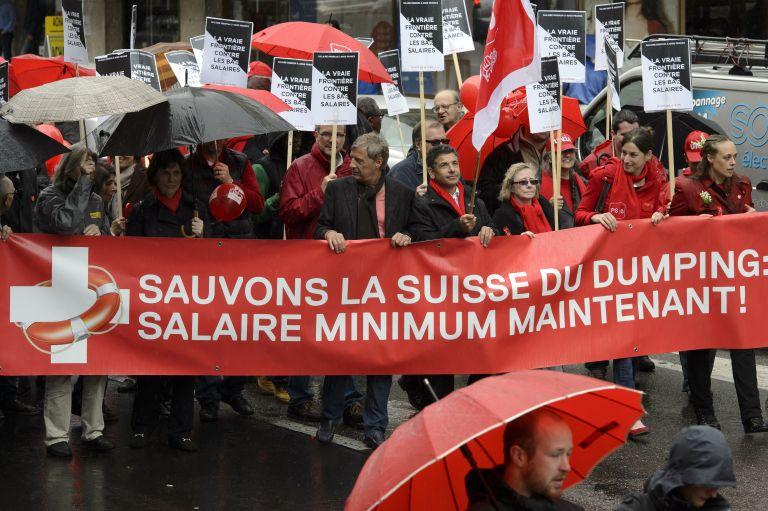 «Οχι» σε κατώτατο μισθό 3.263 ευρώ λένε σε δημοψήφισμα οι Ελβετοί   tovima.gr