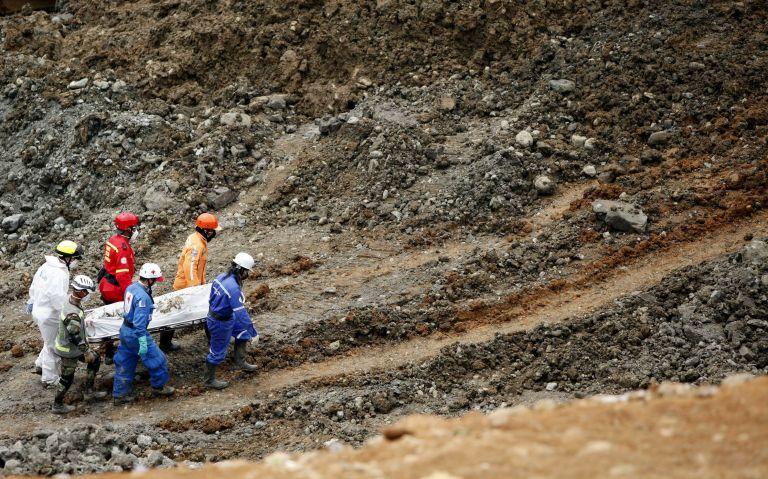Δώδεκα νεκροί από κατολίσθηση χρυσωρυχείου στη Κολομβία   tovima.gr
