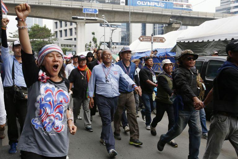 Ταϊλάνδη: Δική τους κυβέρνηση θέλουν να σχηματίσουν οι διαδηλωτές   tovima.gr