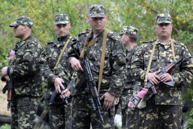 Ένοπλοι επιχείρησαν να καταλάβουν φυλάκιο στη μεθόριο της ανατολικής Ουκρανίας | tovima.gr