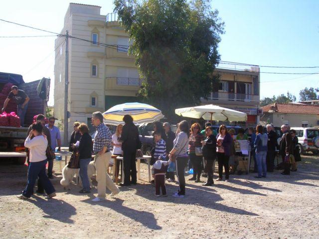 Η αγορά των παραγωγών ξανά στην Ελευσίνα   tovima.gr