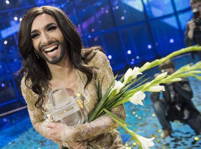 Η Κοντσίτα από την Αυστρία η νικήτρια της Eurovision | tovima.gr