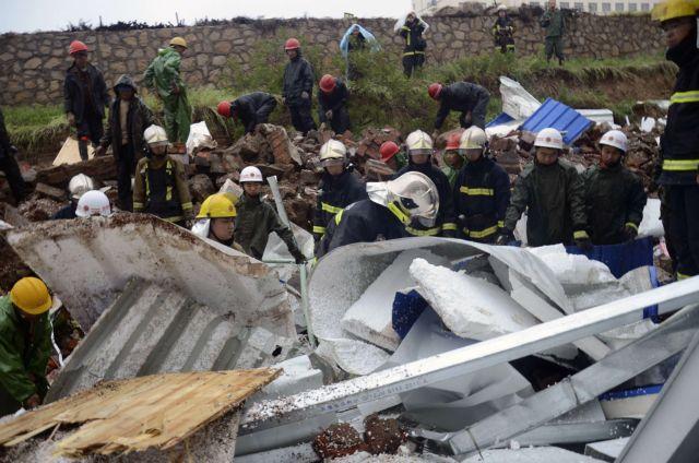 Κίνα:  18 εργάτες νεκροί σε κατάρρευση τοίχου εργοστασίου   tovima.gr