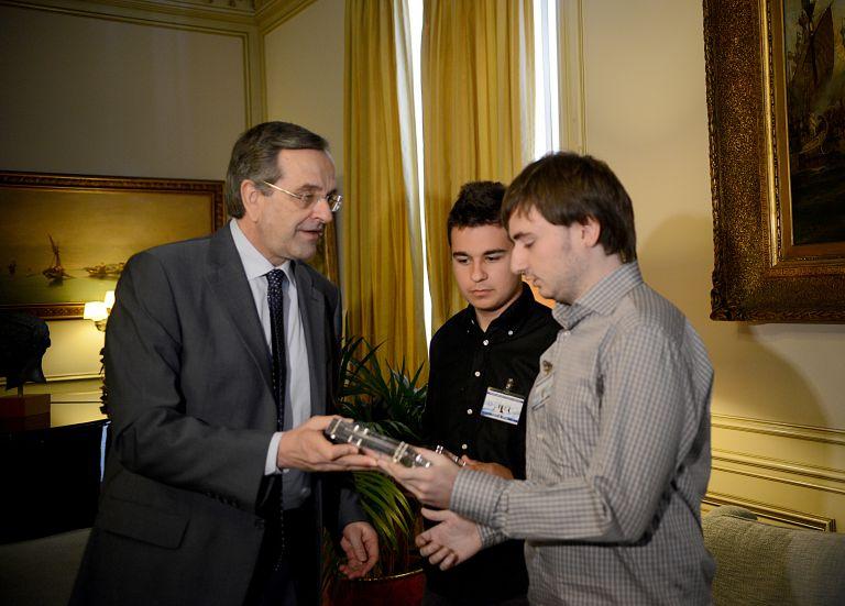 Συγχαρητήρια Σαμαρά σε νικητές ευρωπαϊκού μαθηματικού διαγωνισμού | tovima.gr