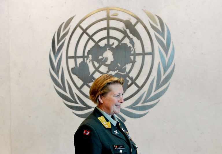 Γυναίκα για πρώτη φορά στη διοίκηση της ειρηνευτικής δύναμης του ΟΗΕ   tovima.gr