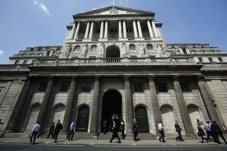 Προς αύξηση των επιτοκίων της στερλίνας η Τράπεζα της Αγγλίας | tovima.gr