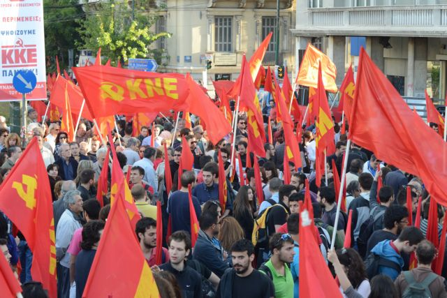"""SYRIZA """"flirting"""" with KKE for the second round of local elections 