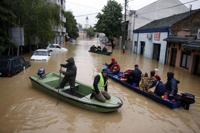 Τουλάχιστον 22 νεκροί από τις πλημμύρες σε Σερβία-Βοσνία | tovima.gr