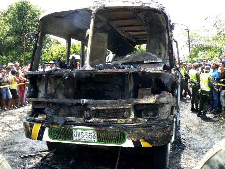 Κολομβία: Στους 33 οι νεκροί από την πυρκαγιά στο λεωφορείο | tovima.gr