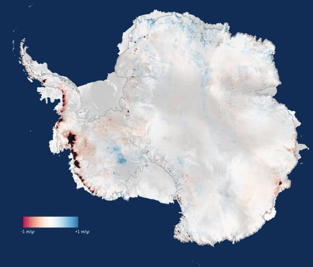 Διπλάσιο πάγο χάνει η Ανταρκτική   tovima.gr