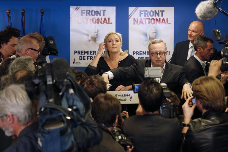 Επανεξελέγη η Μαρίν Λεπέν πρόεδρος του Εθνικού Μετώπου   tovima.gr