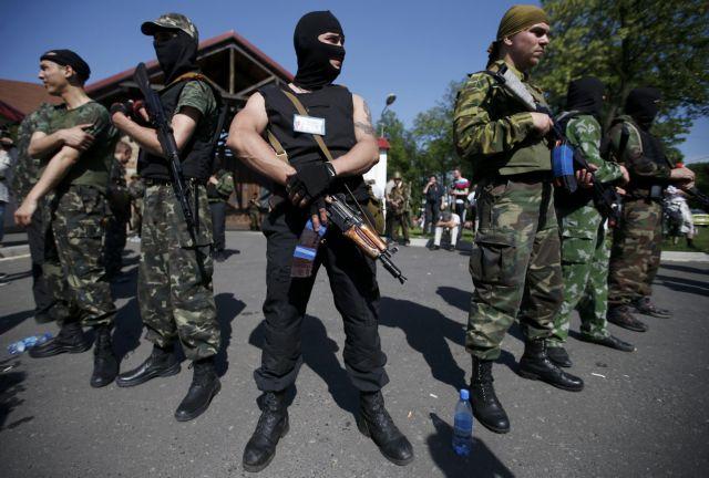 Επιχείρηση ουκρανικού στρατού κατά φιλορώσων στο αεροδρόμιο Ντονέτσκ | tovima.gr