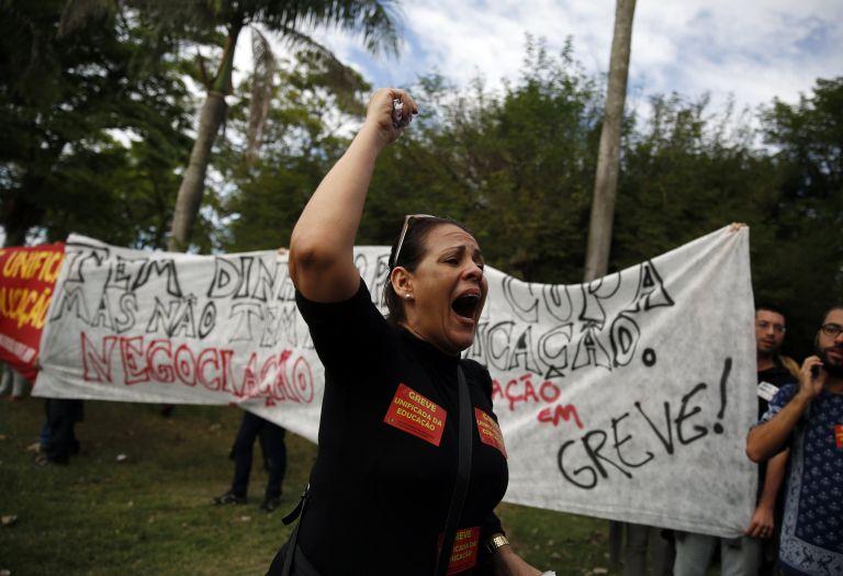 Νέος κύκλος διαδηλώσεων ξεκίνησε στη Βραζιλία   tovima.gr