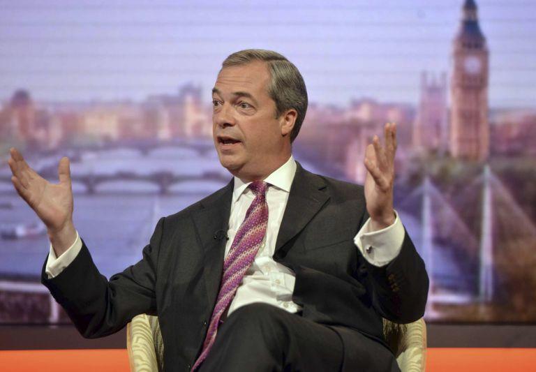 Εξοδο της Ελλάδας από το ευρώ προτείνει ο Φάρατζ του UKIP | tovima.gr