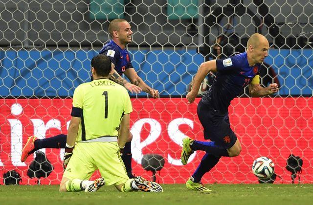 Το 5-1 της Ολλανδίας απέφερε 100.000 ευρώ σε έναν Ισπανό | tovima.gr