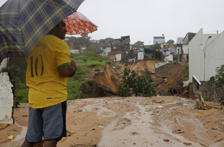 Βραζιλία: Σε κατάσταση έκτακτης ανάγκης η πόλη Νατάλ | tovima.gr