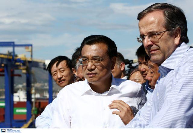 Πρόθεση για επιπλέον επενδύσεις εξέφρασε ο κινέζος πρωθυπουργός στον Σαμαρά | tovima.gr