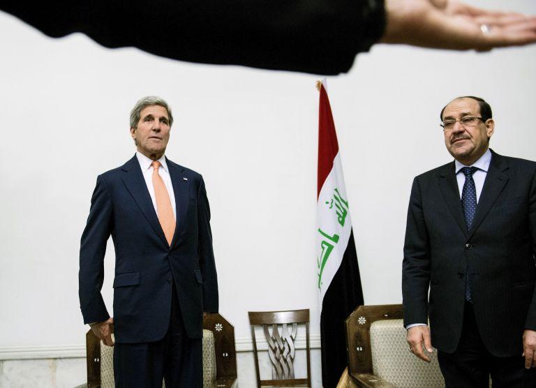 Κέρι σε Μαλίκι: Ανάγκη να μοιραστεί η ιρακινή ηγεσία την εξουσία | tovima.gr