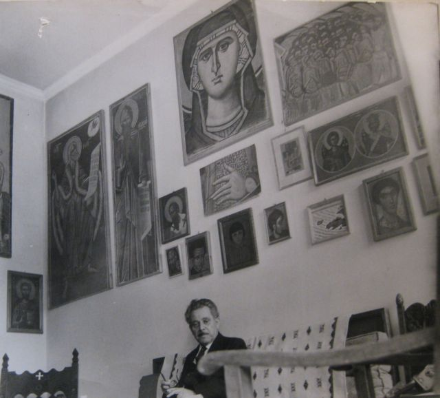 Το Αρχείο Φώτη Κόντογλου στο Βυζαντινό   tovima.gr