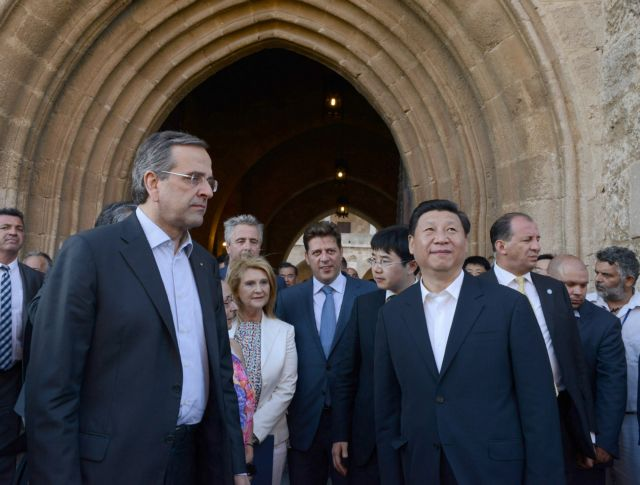 Samaras meets Chinese President Xi Jinping in Rhodes | tovima.gr