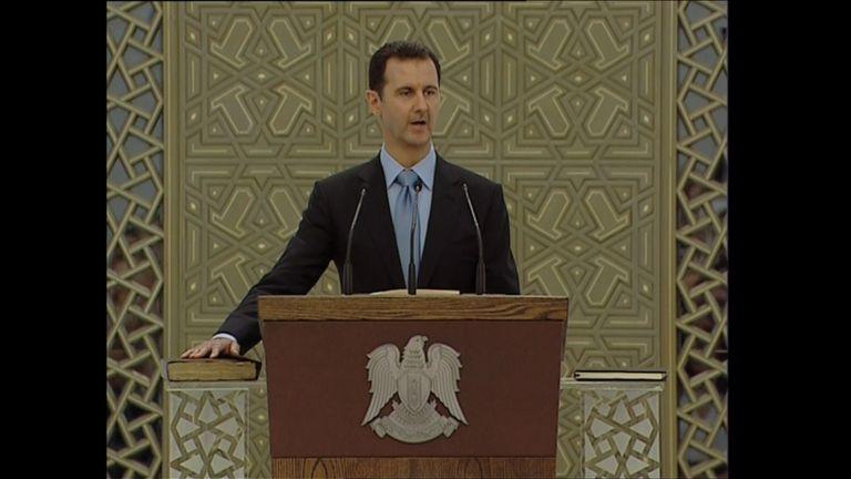 Νικητή σε ένα βρόμικο πόλεμο ανακήρυξε τον λαό της Συρίας ο Ασαντ | tovima.gr