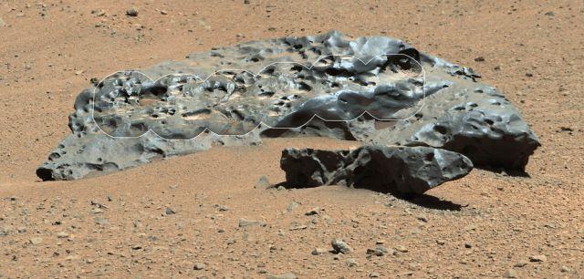 Σιδερένιο μετεωρίτη εντόπισε το Curiosity | tovima.gr