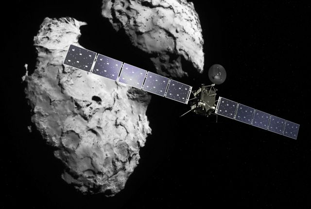 H Rosetta βρήκε τα δομικά υλικά του κομήτη 67/P | tovima.gr