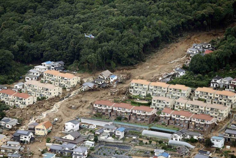 Ιαπωνία: Τουλάχιστον 36 νεκροί από πλημμύρες και κατολισθήσεις | tovima.gr