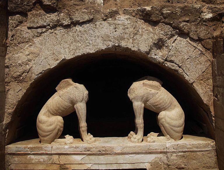 Αμφίπολη: Σε τρία περίπου χρόνια επισκέψιμο το μνημείο του τύμβου Καστά | tovima.gr