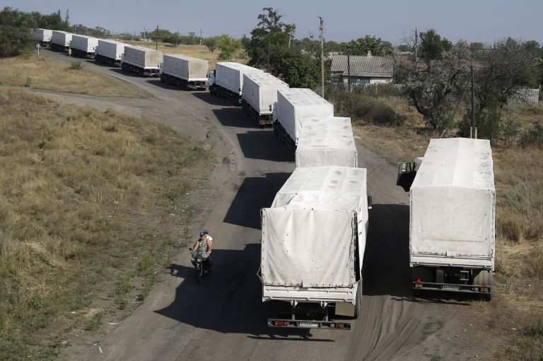 Νέο κονβόι σκέφτεται να στείλει η Μόσχα στην Ουκρανία | tovima.gr