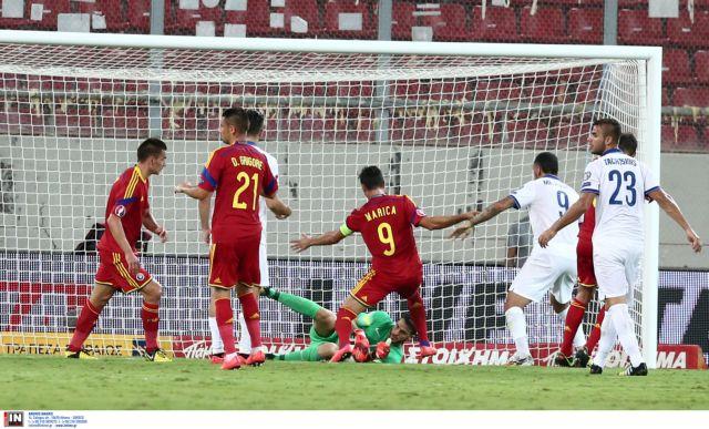 Euro 2016 Qualifiers: Greece v Romania 0-1 | tovima.gr